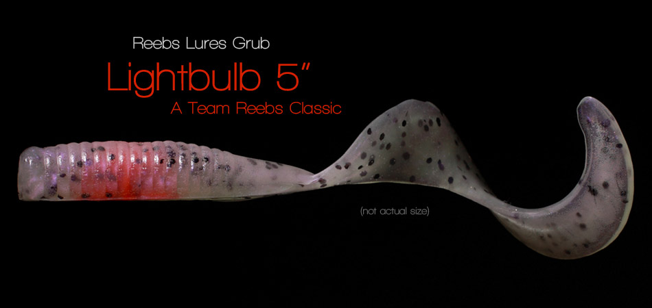 Reebs Lures Grub - Lightbulb