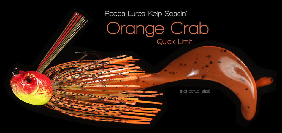 Reebs Lures Assassin - Orange Crab